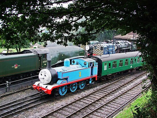 Thomas Leaves the Station  by Colin  Williams Photography