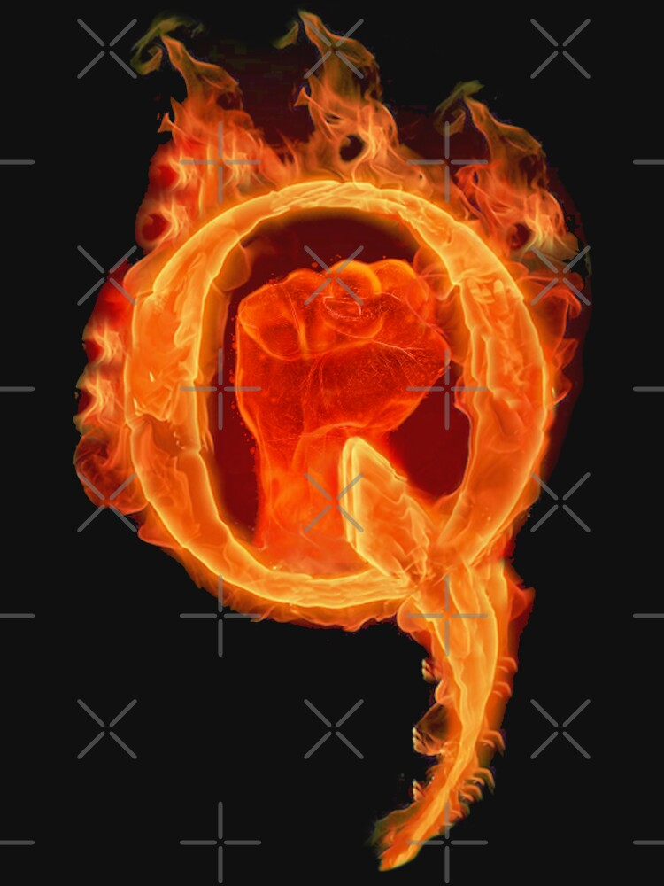 Solidarity Combustion Q  by TrumpQAnon