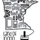 Land of 10,00 Gamers by Adam Leonhardt