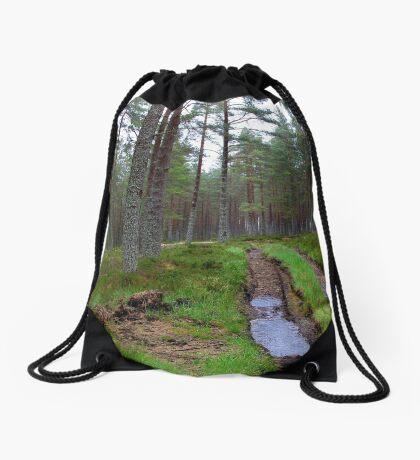 Altyre Woods, near Forres, Scotland Drawstring Bag