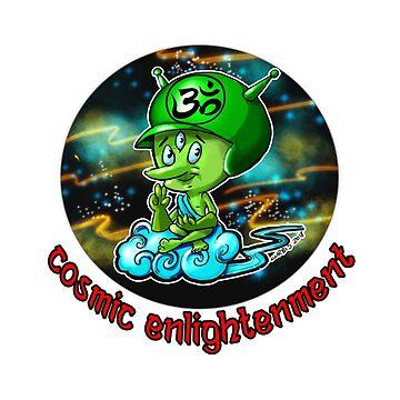 Cosmic Enlightenment by biomek