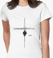 Sailboat Women's Fitted T-Shirt