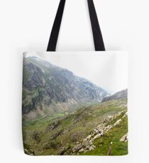 Across the Snowdon Valley Tote Bag