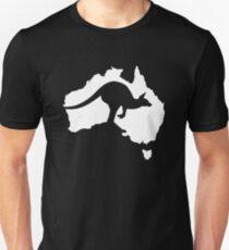 Australien-Känguru Unisex T-Shirt