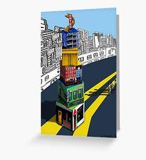 City Blocks Greeting Card