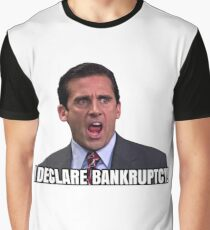 Bankruptcy Graphic T-Shirt