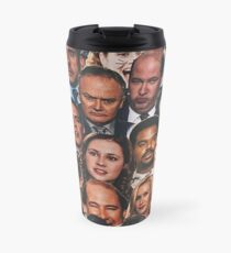 The Office Collage Travel Mug