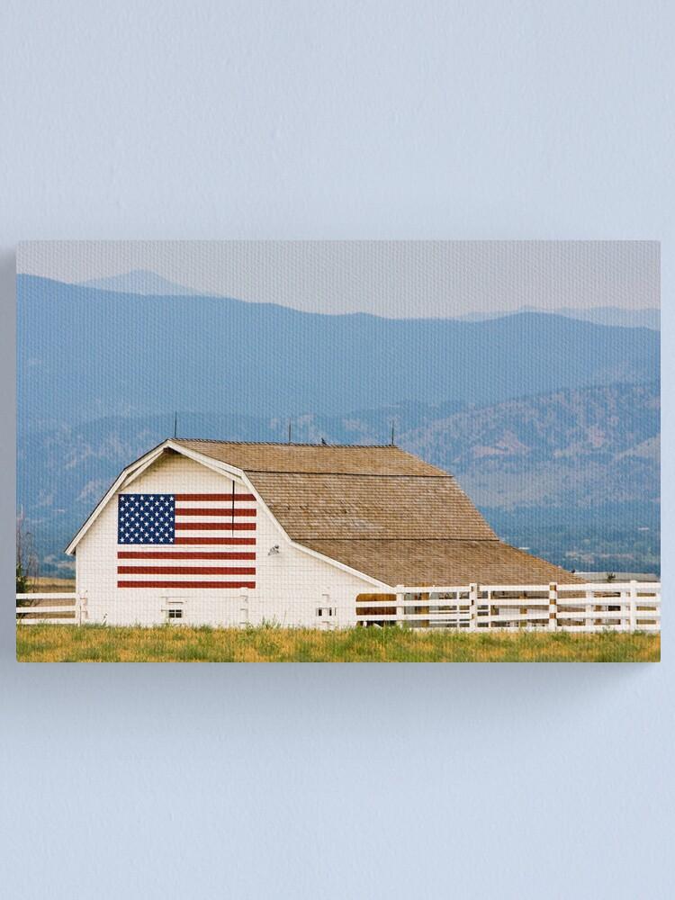 Alternate view of Americana Canvas Print