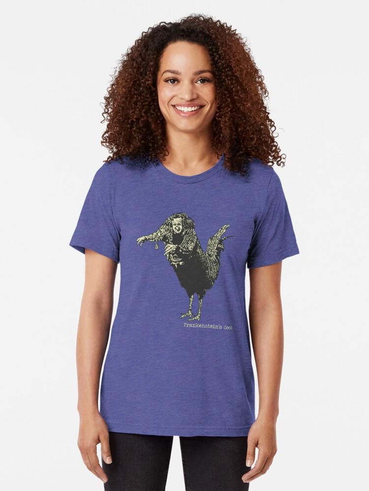 Alternative Ansicht von Frankensteins Schwanz Vintage T-Shirt