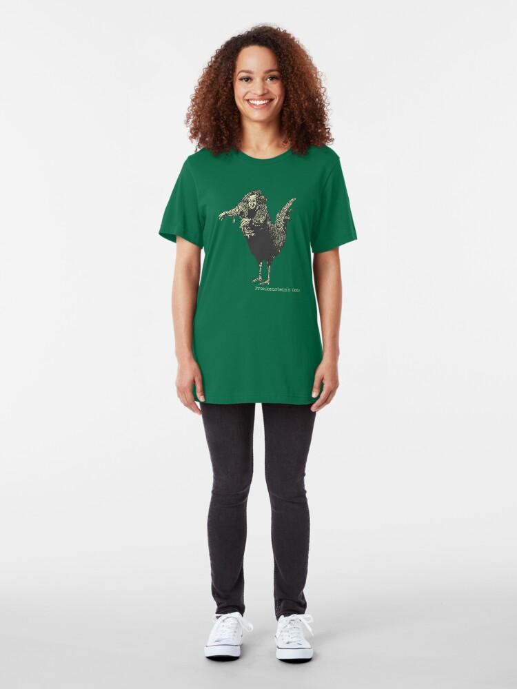 Alternative Ansicht von Frankensteins Schwanz Slim Fit T-Shirt
