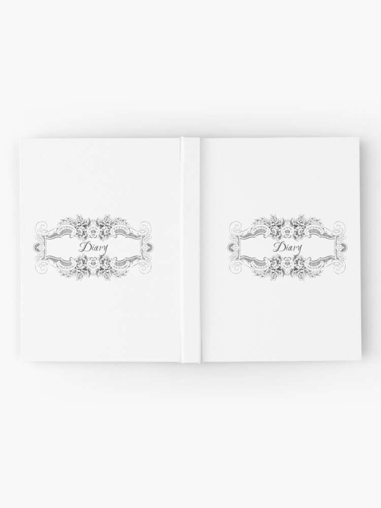Alternate view of Gothic/Victorian Style Diary Hardcover Journal