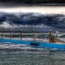 Ocean Pool Storms by Mark van den Hoek