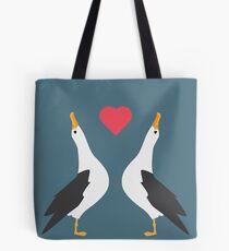 Albatross Love Tote Bag