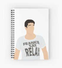 Frankie Say Relax Spiral Notebook