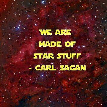 Star Stuff - Carl Sagan by Emilyromrell