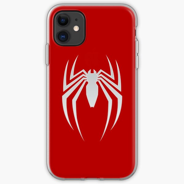White Spider iPhone Soft Case