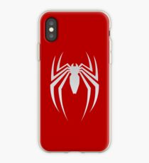 White Spider iPhone Case