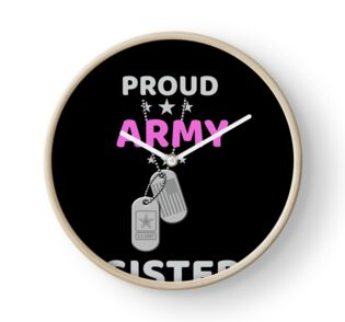 58eaaf4f Army Sister T-Shirt Proud Military American Family Flag Dog Tag Gift ...