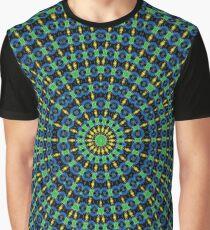 Mandala GeoCinético Camiseta gráfica