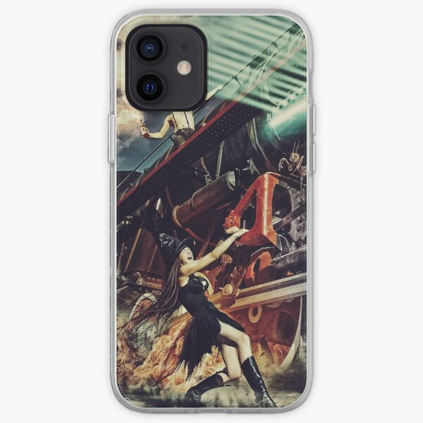 train smoke iPhone Soft Case