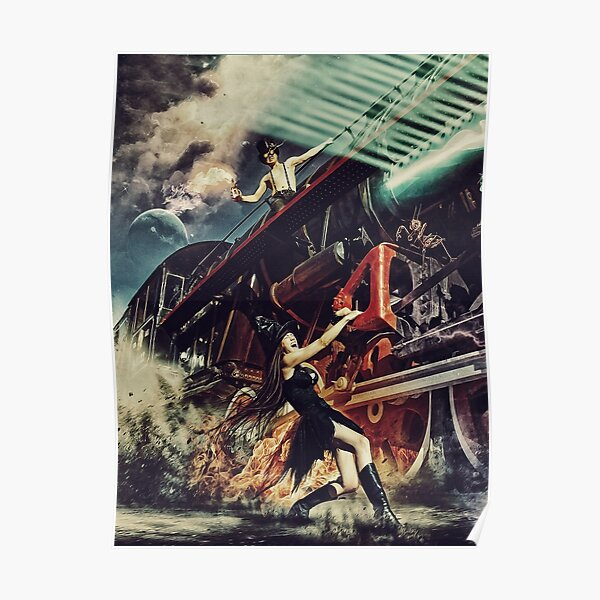 train smoke Poster