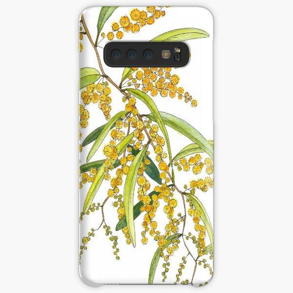 Australian Wattle Flower, Illustration Samsung Galaxy Snap Case