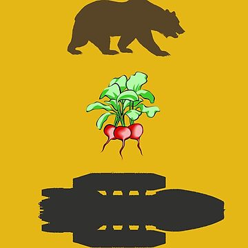 Bears Beets Battlestar by Emilyromrell