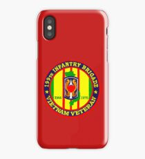 199th Infantry - Vietnam Veteran iPhone Case/Skin