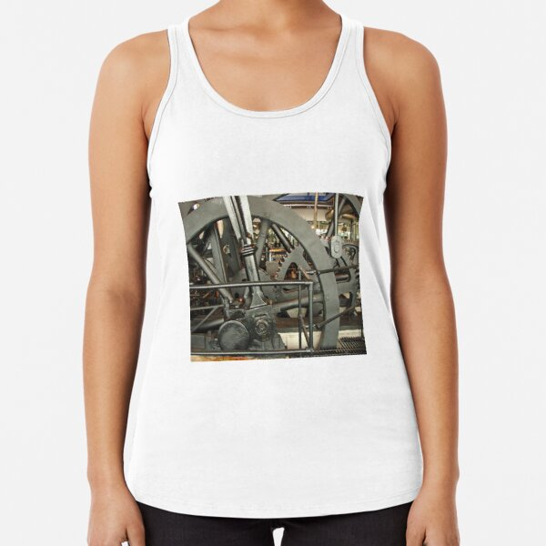 SteamPunk, #SteamPunk,  #science #fiction, science #fantasy,  #ScienceFiction, #ScienceFantasy, #anachronistic #technologies, #retro-futuristic  Racerback Tank Top