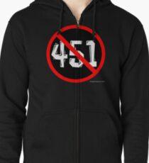 NO 451! Zipped Hoodie
