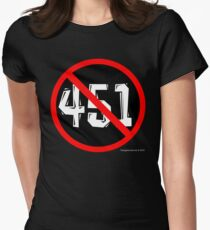 NO 451! Women's Fitted T-Shirt