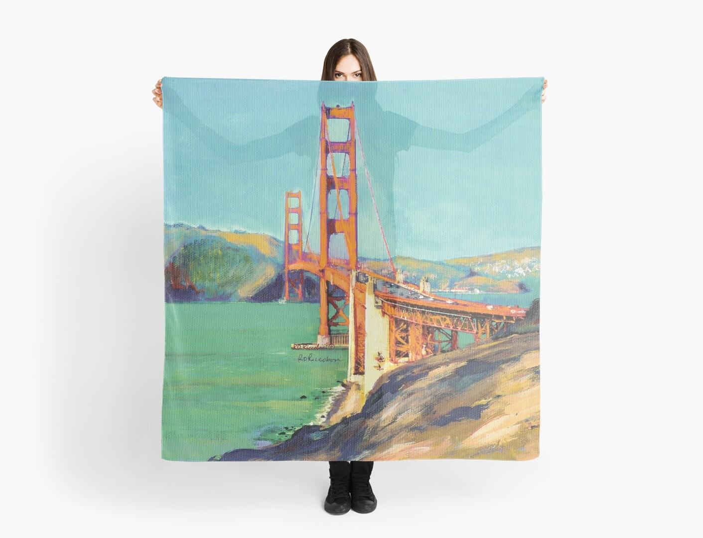 Golden Gate Bridge San Francisco California  by RDRiccoboni