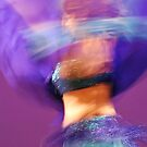 Belly Dance Blur by Nichole Schoff