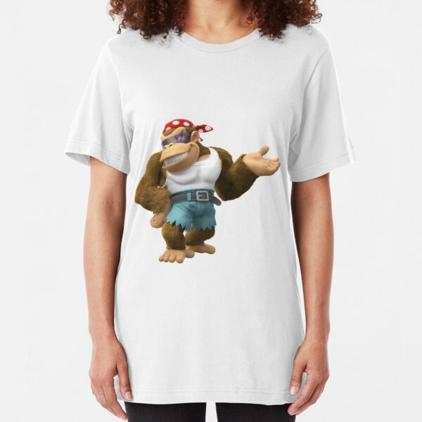 Funky Kong Anime Slim Fit T-Shirt