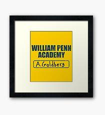 William Penn Academy Gym - The Goldbergs Framed Print