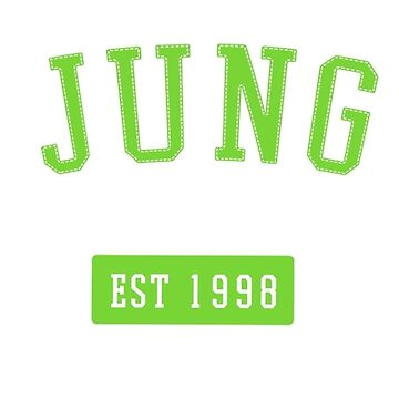 NCT Kim Jungwoo Athletic Sports Style Logo by KPTCH