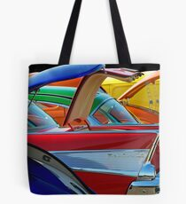 Back To The Car Show. Tote Bag