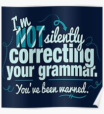 Silently Correcting Your Grammar Poster