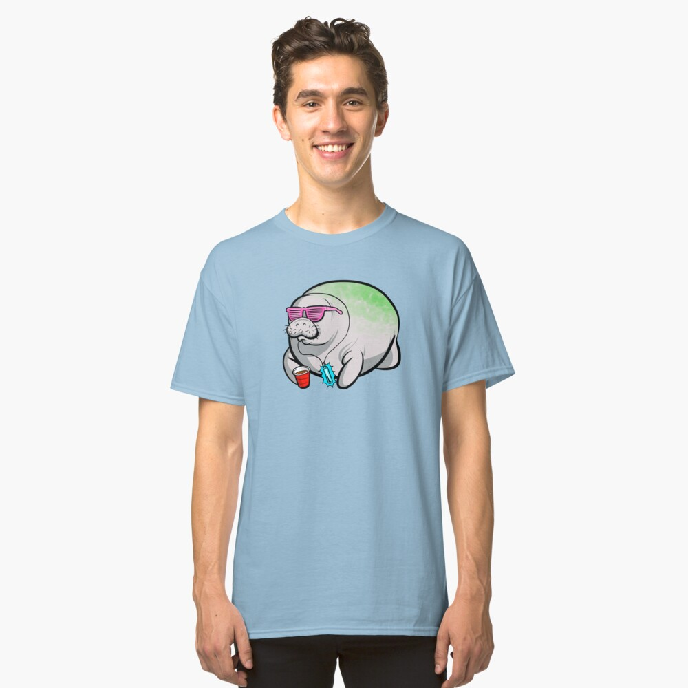 Party Manatee Classic T-Shirt