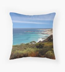 Cape Naturaliste Throw Pillow