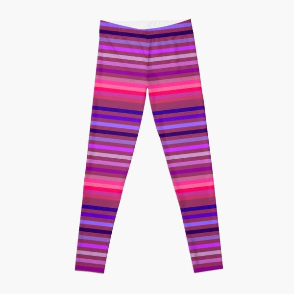 Horizontal Stripes Leggings