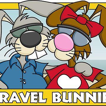 Travel Bunnies by Wislander