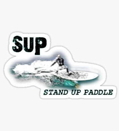 Stand up Paddle  Sticker