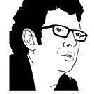 Jeff Goldbloom, Jurassic Park by tomgardenart