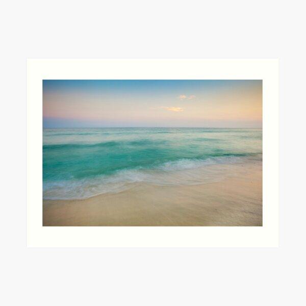 Sunset Tidal Art Print
