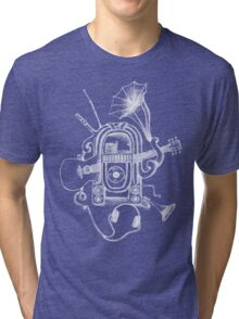The Music Machine For Dark Shirts Tri-blend T-Shirt