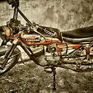 Old motor bike by JeremiahB