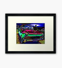 50s at the Drive-In Framed Print