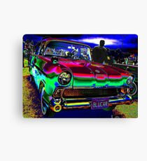 50s at the Drive-In Canvas Print