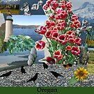 Oregon Collage by Deborah Singer